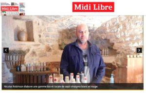 Vinaigrerie montpelliéraine dans la presse